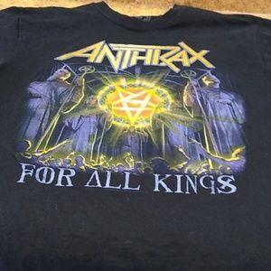 Tops - Anthrax t-shirt